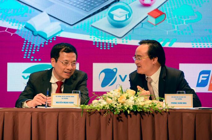 Bộ trưởng Phùng Xuân Nhạ: Việt Nam sẽ trở thành quốc gia hàng đầu về chuyển đổi số trong GD-ĐT - Ảnh 2.