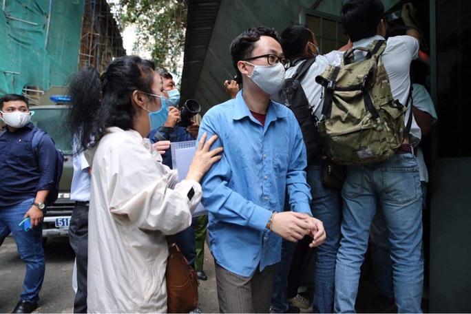 Hoãn phiên tòa xét xử cựu phó chánh án Nguyễn Hải Nam và cựu giảng viên Lâm Hoàng Tùng - Ảnh 2.