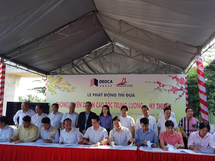 Thông tuyến Cao tốc Trung Lương - Mỹ Thuận vào cuối năm 2020 - Ảnh 2.