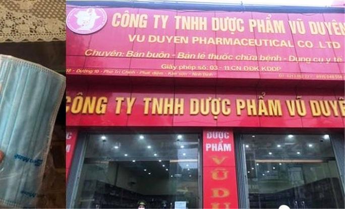 Công ty dược phẩm chặt chém 600.000 đồng/hộp khẩu trang phòng virus corona - Ảnh 1.