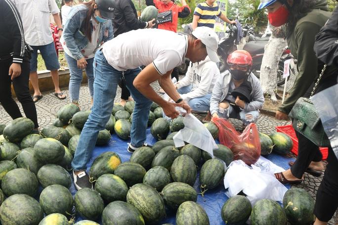 Một buổi sáng, người Hội An giải cứu hơn 7 tấn dưa hấu bí đường sang Trung Quốc - Ảnh 8.