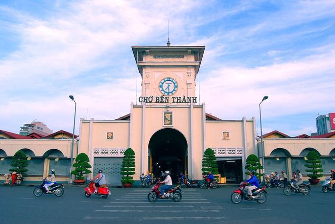 Chợ Bến Thành được công nhận là điểm du lịch - Ảnh 1.