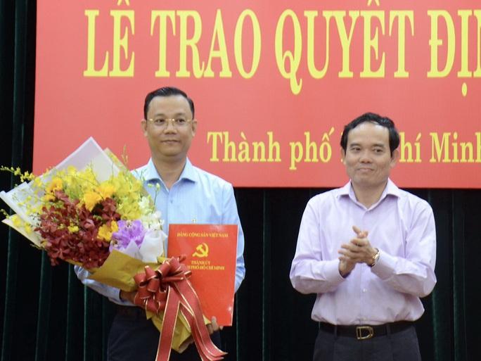 Trưởng Ban Tuyên giáo Huyện ủy Hóc Môn làm Phó Chánh  Văn phòng Thành ủy TP HCM - Ảnh 1.