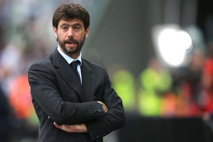 Juventus chief Andrea Agnelli