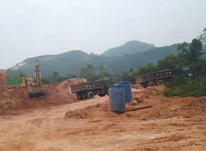 Sai phạm trong khai thác khoáng sản, Thanh tra Chính phủ kiến nghị Phú Thọ xử lý cán bộ liên quan - Ảnh 1.