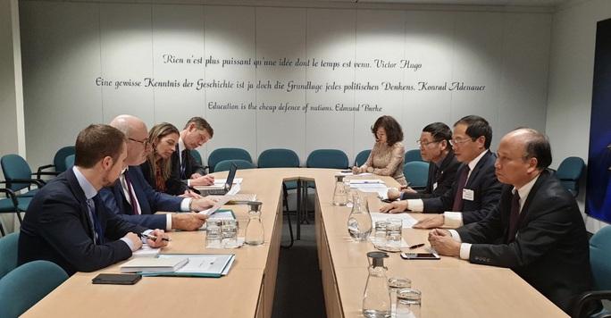 Hôm nay 12-2, Nghị viện châu Âu bỏ phiếu xem xét phê chuẩn hiệp định EVFTA và EVIPA - Ảnh 2.