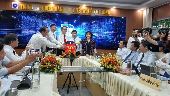 TP HCM có  Trung tâm điều hành thông minh về y tế, giáo dục đầu tiên tại Việt Nam - Ảnh 1.