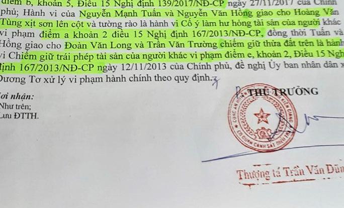 Công an đề nghị xử lý nhóm người bao chiếm nhà trái phép ở Phú Quốc - Ảnh 3.
