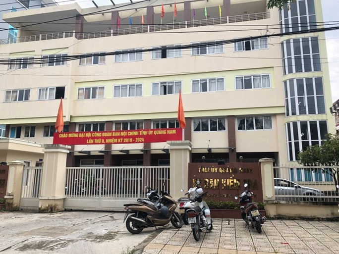 Thu hồi danh hiệu tập thể xuất sắc của 1 phòng thuộc UBKT Tỉnh ủy Quảng Nam - Ảnh 1.