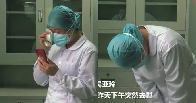 Biết tin mẹ mất, nữ y tá Vũ Hán khóc lạy 3 lần rồi quay lại làm việc - Ảnh 2.