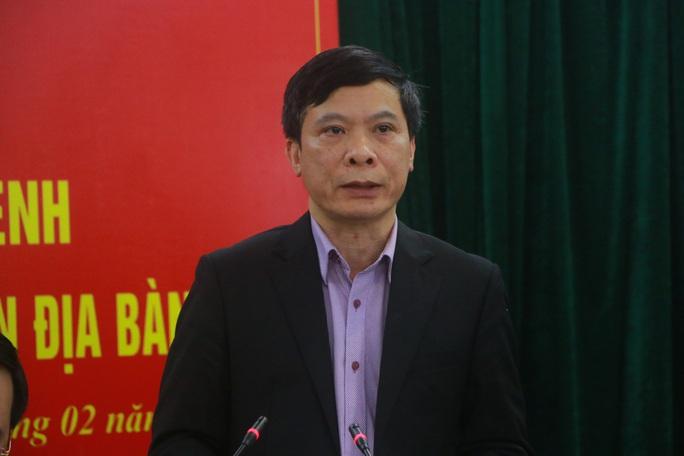 Vĩnh Phúc họp báo: Đang nghiên cứu trường hợp nữ công nhân về từ Vũ Hán lây bệnh cho 5 người khác - Ảnh 4.
