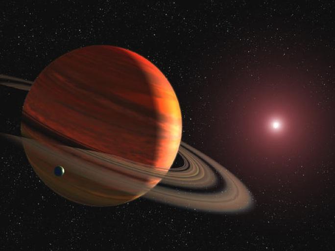 Vũ trụ đang sinh ra một hành tinh gấp 3.180 lần trái đất - Ảnh 1.