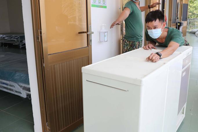 Trang bị mắt thần cho bệnh viện dã chiến TP HCM - Ảnh 7.