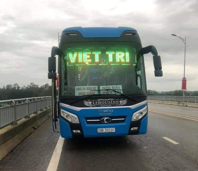 Sở Y tế Phú Thọ lên tiếng vụ nghi nhiễm Covid-19 trên xe khách đi Nghệ An - Ảnh 1.