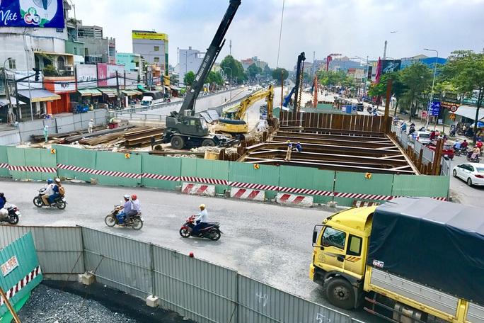 TP HCM sắp hoàn thiện nút giao 3 tầng, giảm áp lực giao thông cửa ngõ Tây Bắc - Ảnh 7.