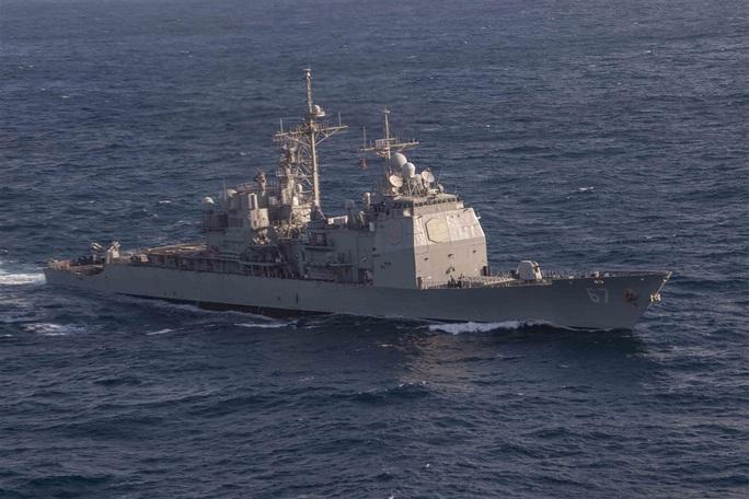 Mỹ liên tiếp hiện diện quân sự trên eo biển Đài Loan - Ảnh 1.