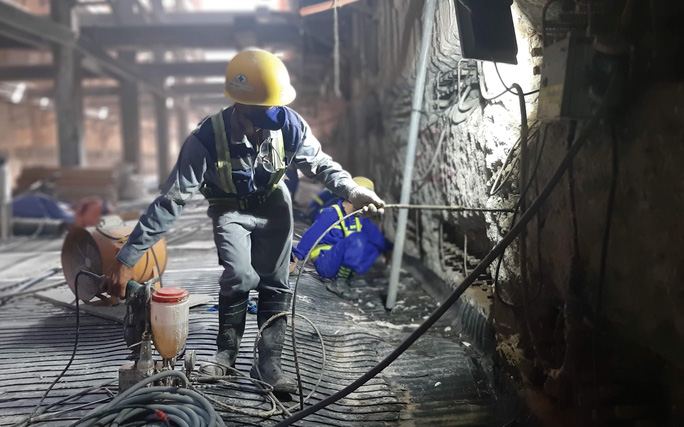CLIP: Nối xong phần ngầm, tuyến metro Bến Thành - Suối Tiên đã thông suốt - Ảnh 5.