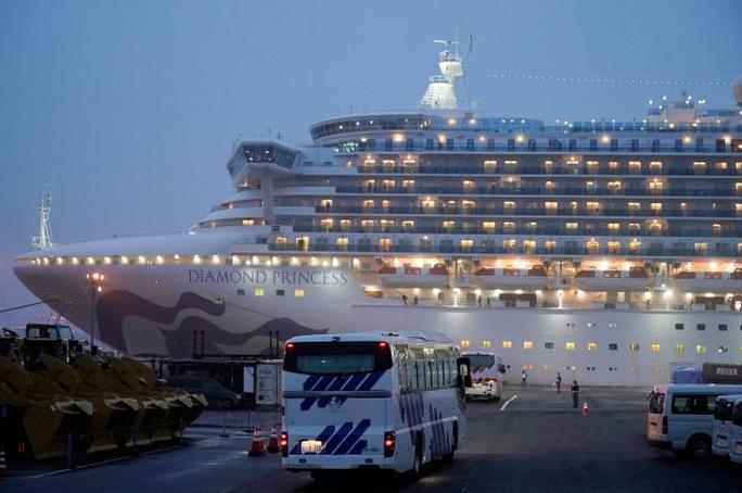 Hành khách tàu Diamond Princess không nhiễm virus SARS-CoV-2 rời tàu từ ngày 19-2. - Ảnh 2.