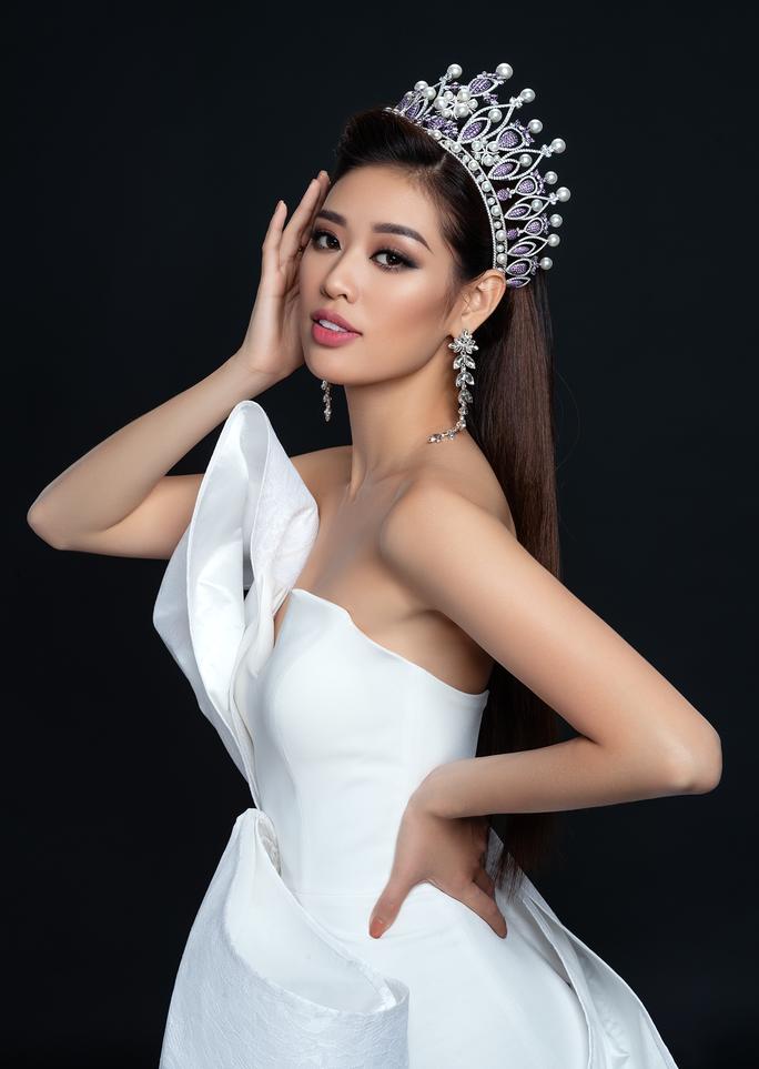 Hoa hậu Hoàn vũ Khánh Vân công bố bộ ảnh beauty - Ảnh 7.
