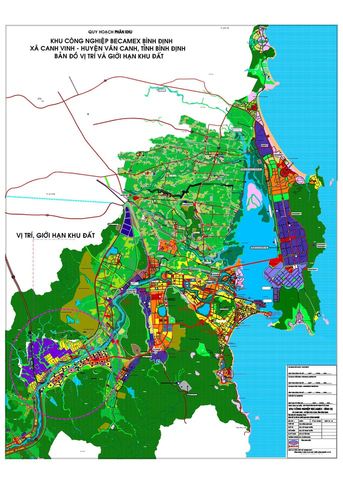 Phê duyệt chủ trương đầu tư dự án KCN Becamex Bình Định - Ảnh 1.