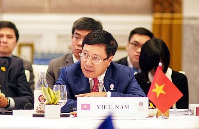 Phó Thủ tướng Phạm Bình Minh dự Hội nghị đặc biệt ASEAN-Trung Quốc ứng phó dịch Covid-19 - Ảnh 1.