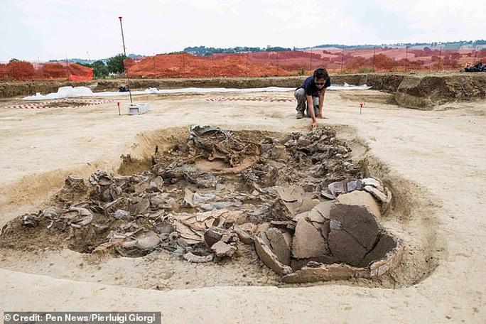 Xây nhà, đào được… hoàng tử ma 2.700 tuổi trên xe ngựa đầy châu báu - Ảnh 1.