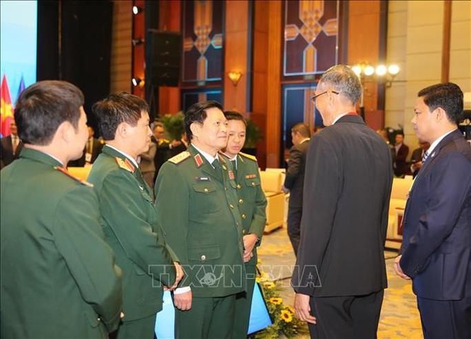 Chùm ảnh khai mạc Hội nghị hẹp Bộ trưởng Quốc phòng ASEAN tại Hà Nội - Ảnh 8.