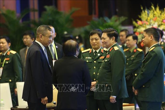 Chùm ảnh khai mạc Hội nghị hẹp Bộ trưởng Quốc phòng ASEAN tại Hà Nội - Ảnh 9.