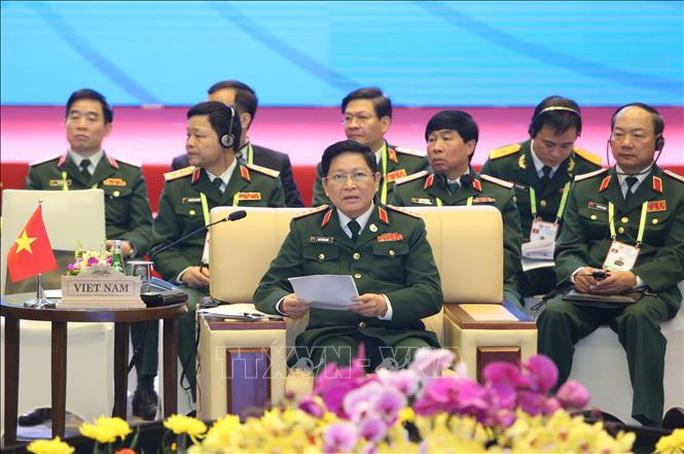 Chùm ảnh khai mạc Hội nghị hẹp Bộ trưởng Quốc phòng ASEAN tại Hà Nội - Ảnh 4.