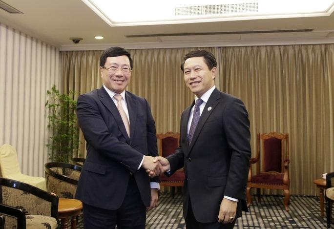 Phó Thủ tướng Phạm Bình Minh gặp Ngoại trưởng Trung Quốc Vương Nghị - Ảnh 3.
