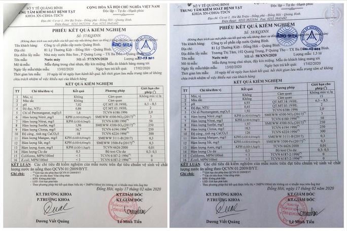 Vòi rồng phun nước đen ngòm ở Quảng Bình: Đã có kết quả xét nghiệm - Ảnh 2.