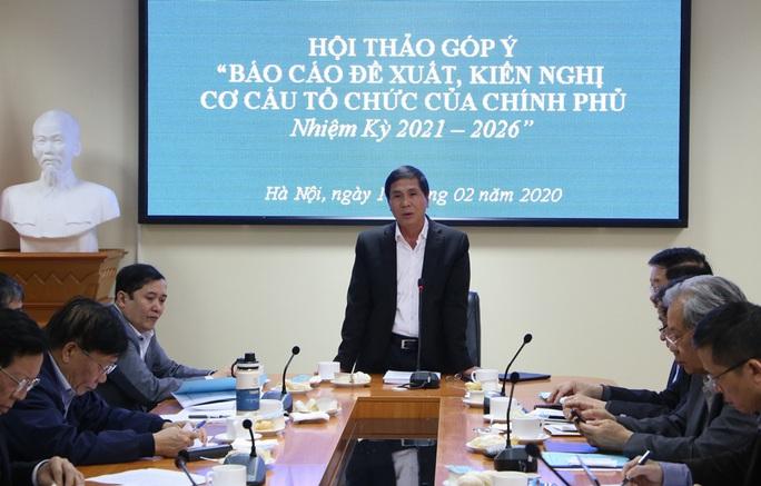 Đề xuất bộ máy Chính phủ giảm xuống còn 20 Bộ, 4 Phó thủ tướng - Ảnh 1.