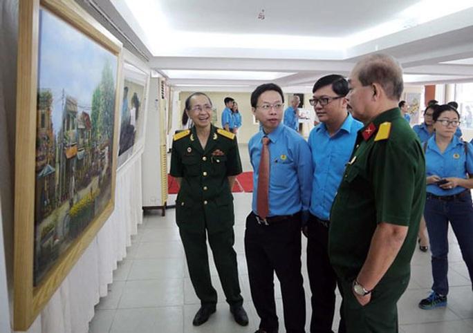 Triển lãm tranh, ảnh Mừng Xuân - Ơn Đảng - Ảnh 1.