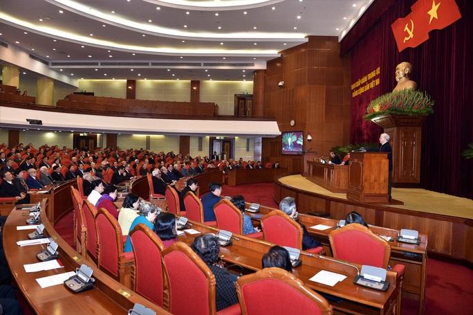Bộ Chính trị gặp mặt nguyên lãnh đạo cấp cao của Đảng, Nhà nước - Ảnh 3.