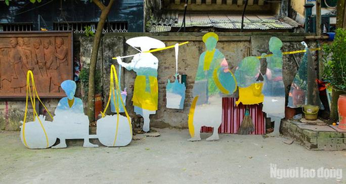 Bãi rác hóa thành không gian sáng tạo nghệ thuật - Ảnh 8.