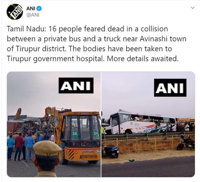 Xe tải lao trực diện vào xe buýt, 19 người thiệt mạng - Ảnh 3.