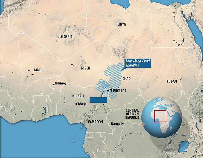 Vệ tinh chụp được vùng biển ma chưa từng thấy giữa sa mạc Sahara - Ảnh 2.