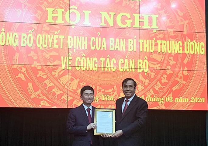Phó Chủ nhiệm VPCP được điều động làm Phó Bí thư Thường trực Tỉnh ủy Hưng Yên - Ảnh 1.
