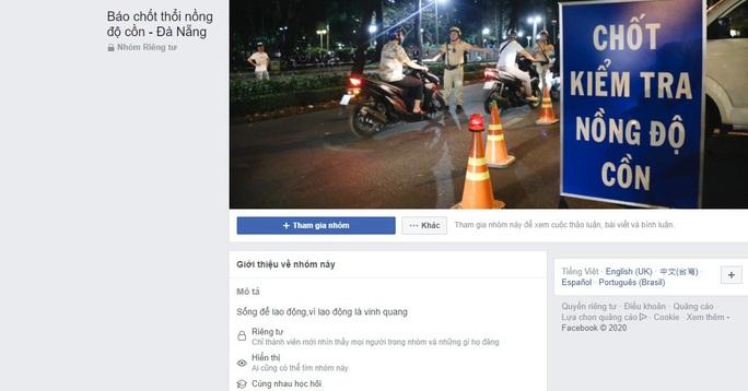 Lập trang Facebook báo chốt kiểm tra nồng độ cồn giúp ma men né CSGT ! - Ảnh 2.