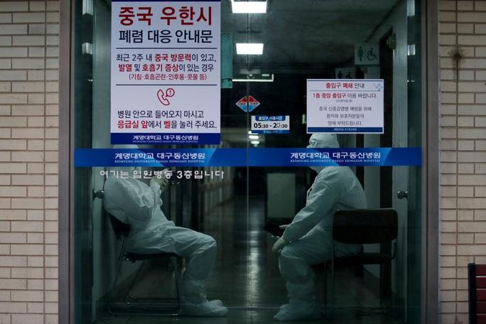 Hàn Quốc nâng mức cảnh báo Covid-19 cao nhất - Ảnh 1.