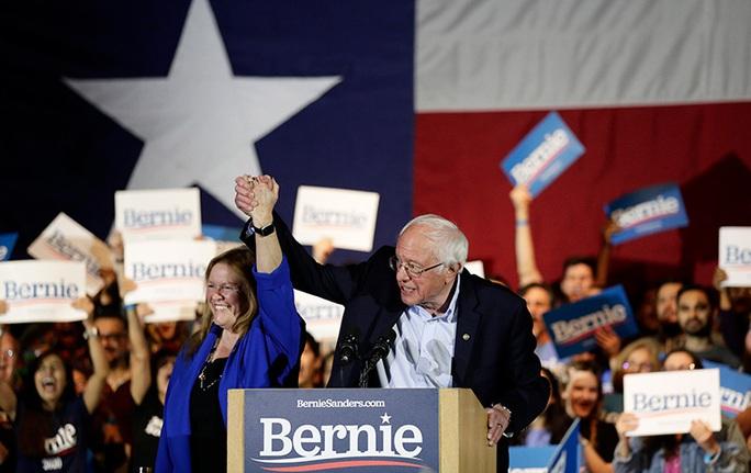Thượng nghị sĩ Bernie Sanders dự kiến thắng lớn ở Nevada - Ảnh 1.