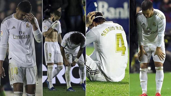 Tháng 2 nghiệt ngã của HLV Zidane và Real Madrid - Ảnh 1.