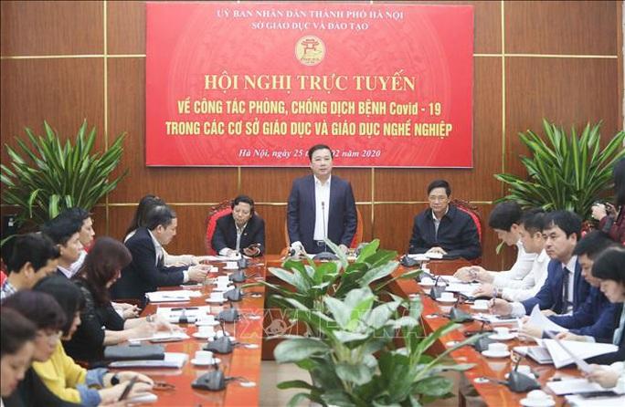Giám đốc Sở GD-ĐT Hà Nội: Học sinh đi học trở lại ngày 2-3 tới nếu không có gì thay đổi - Ảnh 1.