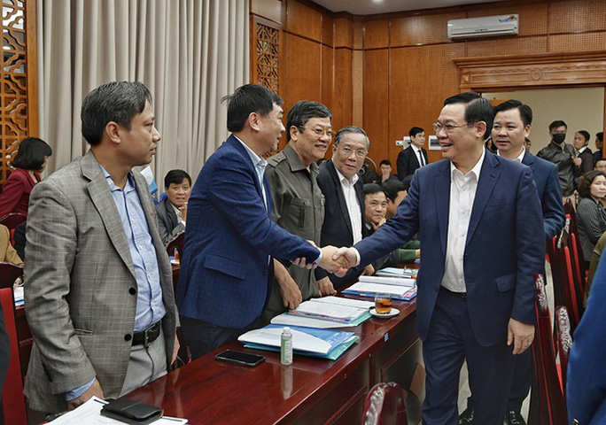 Tân Bí thư Vương Đình Huệ: Sớm đưa đường sắt Cát Linh - Hà Đông vào vận hành - Ảnh 1.