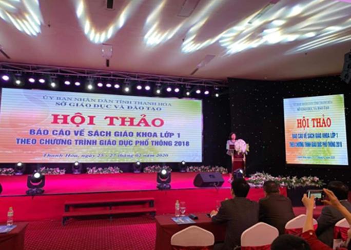 Yêu cầu Sở GD-ĐT Thanh Hóa dừng ngay việc tổ chức hội thảo chọn sách - Ảnh 2.