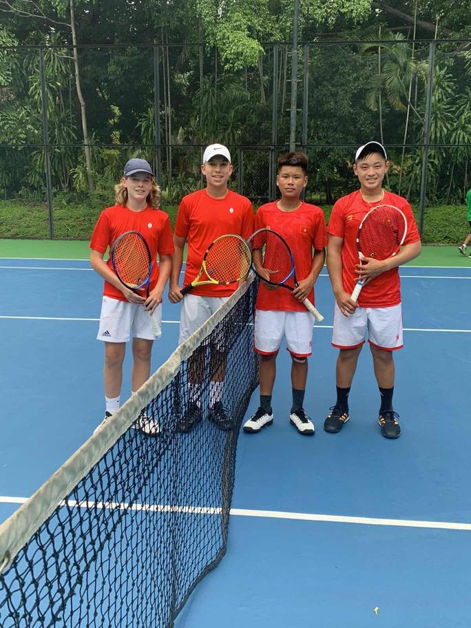 Tuyển quần vợt Việt Nam tỏa sáng ở giải trẻ quốc tế - Ảnh 2.