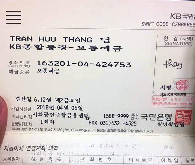Cộng đồng người Việt tại Hàn Quốc đang chung tay kêu gọi mọi người hỗ trợ giúp gia đình nạn nhân