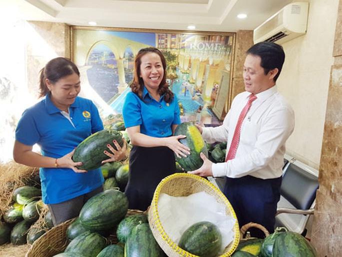 Hỗ trợ nông dân tiêu thụ nông sản - Ảnh 1.