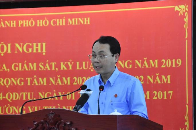 Ủy ban Kiểm tra Thành ủy TP HCM đã chỉ đạo xem xét, xử lý nhiều tổ chức Đảng - Ảnh 1.