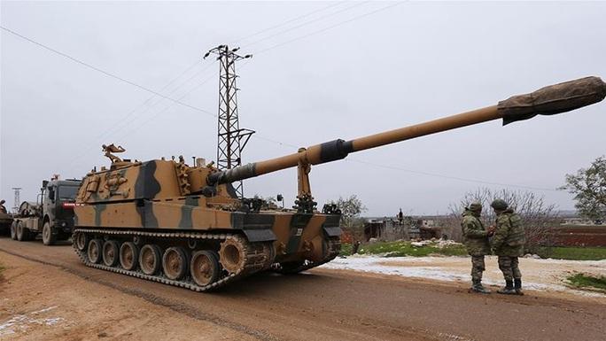 """Thổ Nhĩ Kỳ """"điểm huyệt"""" nhiều mục tiêu của Syria - Ảnh 1."""